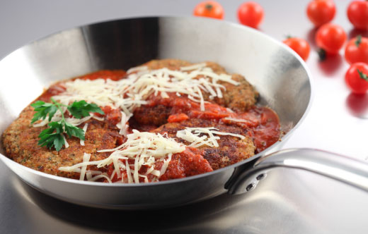 Quick Pork Parmesan