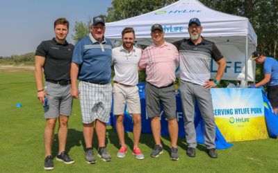 Golfing and Premium Pork in Support of the Steinbach Pistons