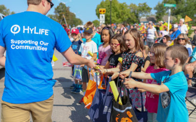 Handing Out Candy and Smiles at Pioneer Days Parade