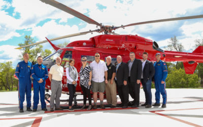 NEW 'STARS' HELIPAD THROUGH FUN DAYS DONATION