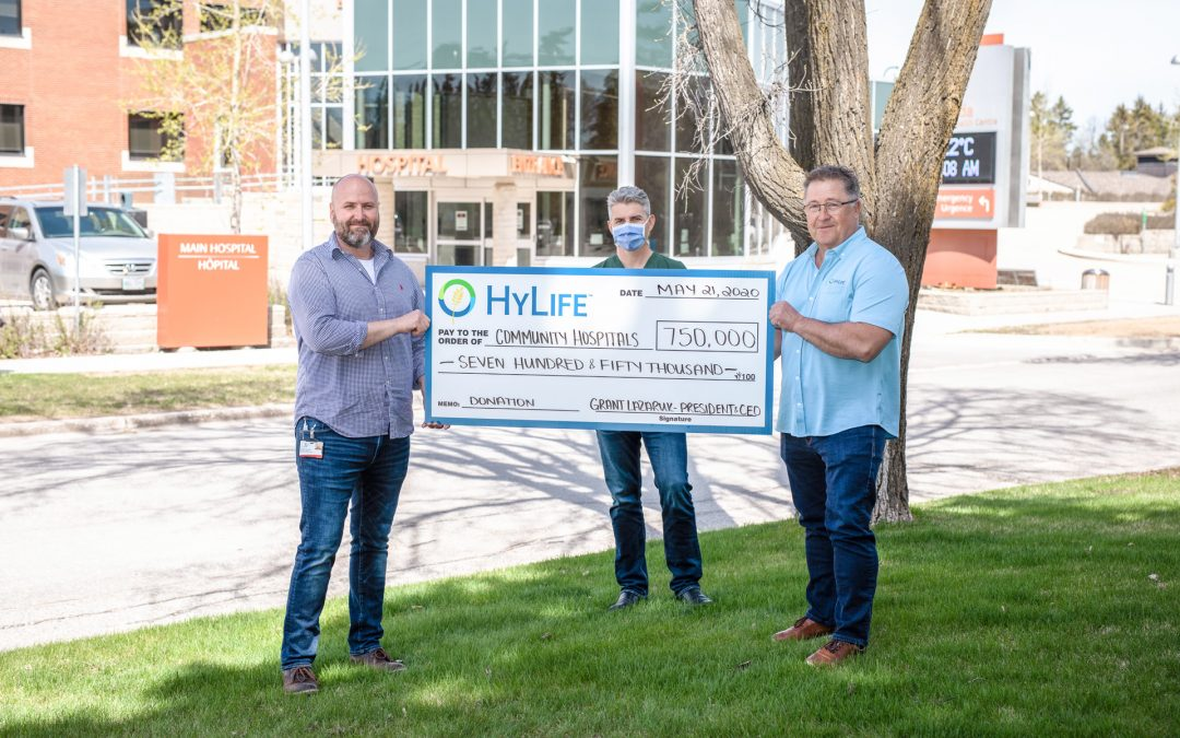 HyLife Donates $750,000 to Support Local Hospitals During COVID-19